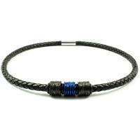 Loke halskæde urban black & Blue