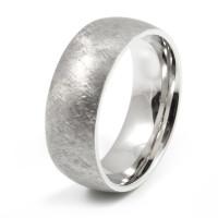 Herre Ring Brushed Steel